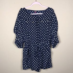 Vince Camuto Pants & Jumpsuits - Vince Camuto Polka Dot Romper Size Medium